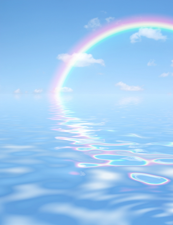 calming down rainbow