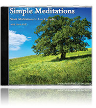 Simple Meditations CD | Daily Meditations CD & MP3